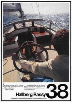 Hallberg-Rassy 38 English colour brochure