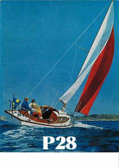 P 28 colour brochure from the 1960s