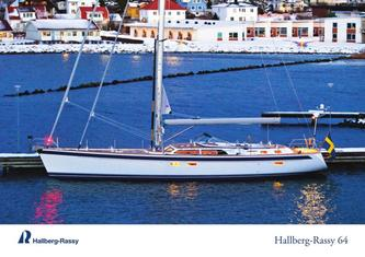 Hallberg-Rassy 64 colour brochure, winter photos edition