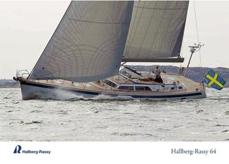 Hallberg-Rassy 64 colour brochure, summer photos edition