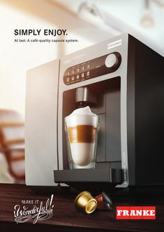 Capsule coffee machine 07-2016