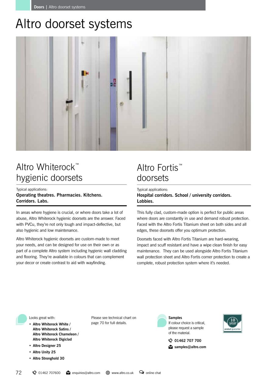 Doors 2016 by Altro UK
