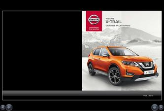 New Nissan X-Trail Accessory Brochure 2017.10