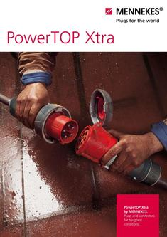 PowerTOP® Xtra. Plugs and connectors for toughest conditions 2017