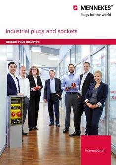 Short form catalogue Industrial plugs and sockets 2016
