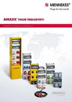 AMAXX®. Receptacle combinations for worldwide use 2017