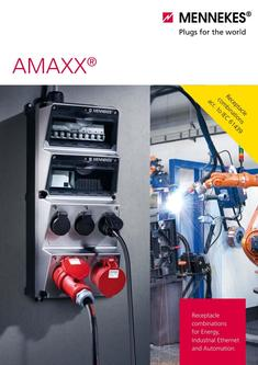 AMAXX® Combination units for Energy, Industrial Ethernet and Automation 2017