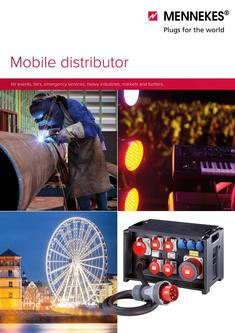 Mobile distributor for events, fairs 2017