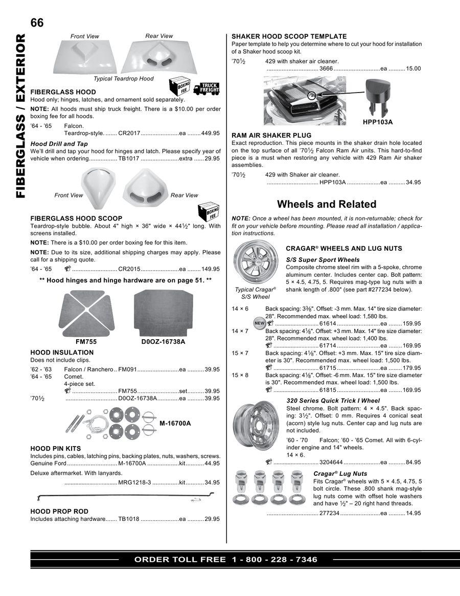 Page 23 of Ford Falcon - Ranchero - Comet - Cyclone Parts
