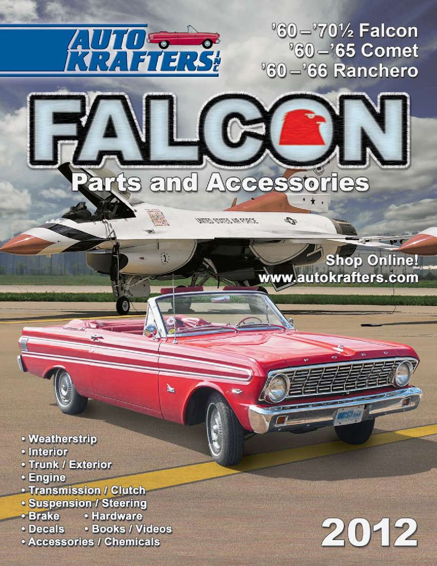 Page 16 Of Ford Falcon Ranchero Comet Cyclone Parts 1964 Accessories 2012 Part 1 By Auto Krafters Inc
