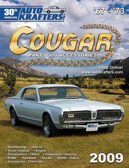 Cougar Parts and Accessories 2009