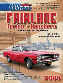 Fairlane Torino and Ranchero Parts & Accessories 2009