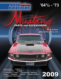 Mustang parts and accessories 2009