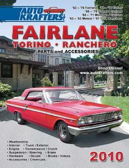 Fairlane Torino and Ranchero parts and accessories 2010