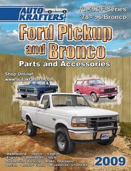 Ford Pickup & Bronco parts and accessories 2009