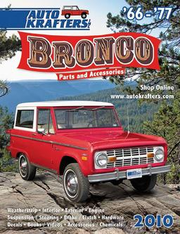 66-77 Early Ford Bronco parts and accessories 2010