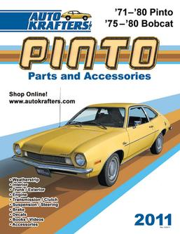 Pinto & Bobcat parts and accessories 2011