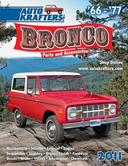 66-77 Early Ford Bronco parts and accessories 2011 part 1