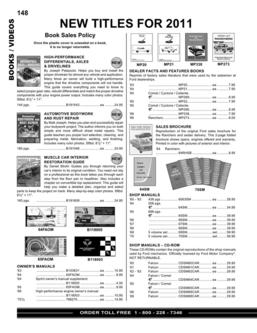 Falcon parts and accessories 2011 part 4