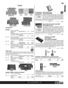 Mustang parts and accessories 2011 part 2