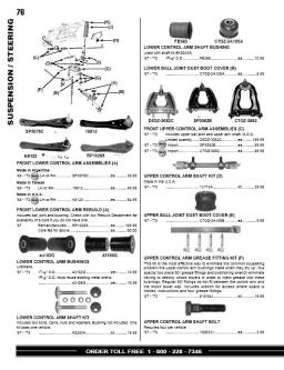 Cougar Parts and Accessories Part 2