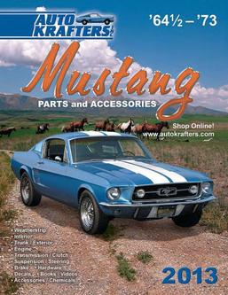 Ford Mustang 64 1/2-73 Parts & Accessories 2012 Part 1