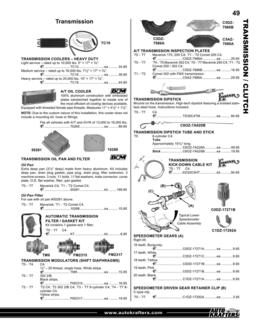 Maverick 70-77 - Comet 71 -77 Parts & Accessories 2013 Part 2