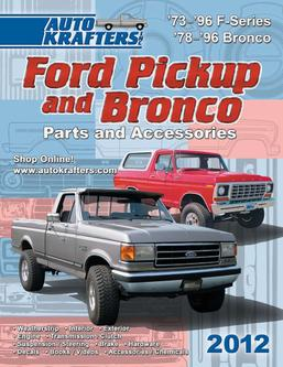 Ford Pickup & Bronco Parts & Accessories 2012 Part 1