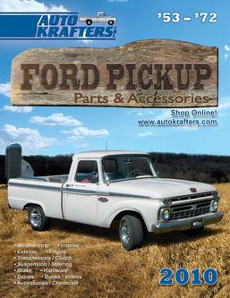 Ford F-Series 53-72 Parts & Accessories 2012 Part 1