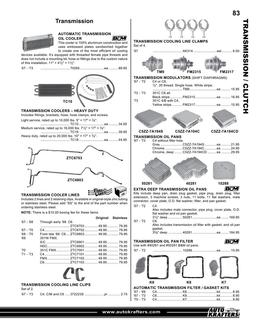 Cougar 67-73 Parts & Accessories 2012 Part 2