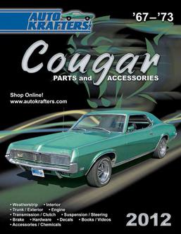 Cougar 67-73 Parts & Accessories 2012 Part 1