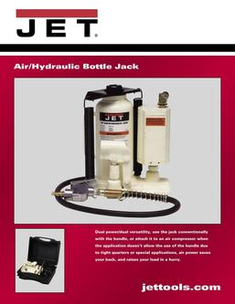 12-Ton Air / Hydraulic Bottle Jack 2017