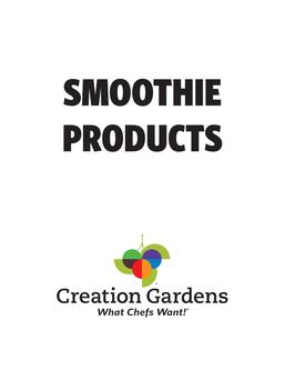 Smoothie Products 2017