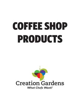 Coffee Shop Products 2017
