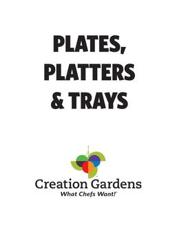 Plates, Platters and Trays 2017