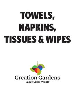 Towels, Napkins, Tissues & Wipes 2017