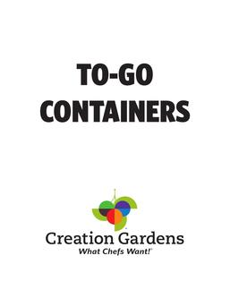 To-Go Containers 2017