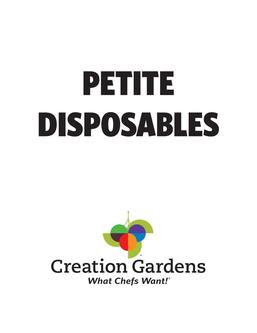 Petite Disposables 2017