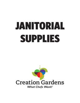 Janitorial Supplies 2017