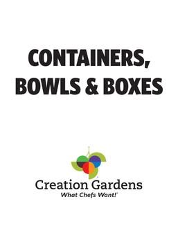 Containers, Bowls & Boxes 2017