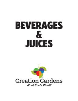 Beverages and Juices 2017