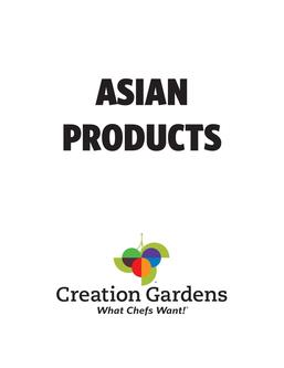 Asian Products 2017