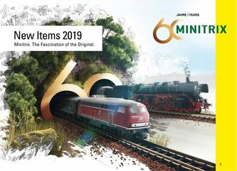 New Items 2019 Minitrix
