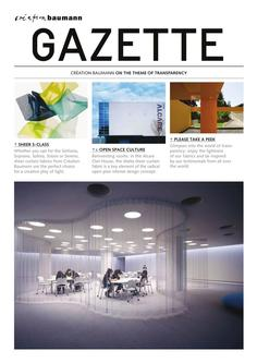 Gazette Transparency 2017