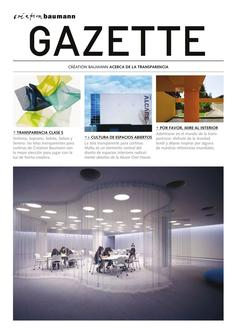 Gazette Transparency 2018 (Spanish)