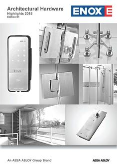 Glass Architectural Hardware Highlights 2017
