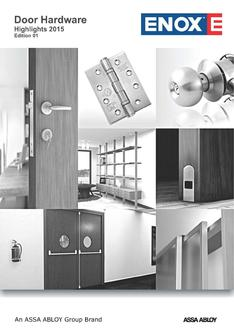 Door Hardware Highlights 2015
