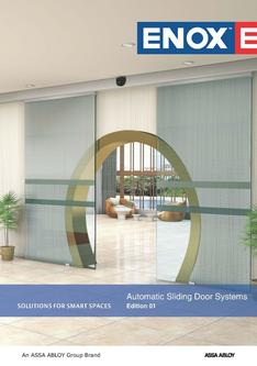 Automatic Sliding Door Systems 2017