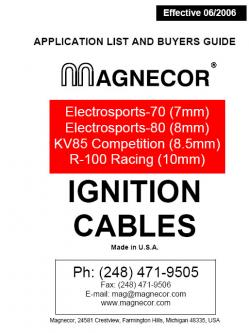 Magnecor Ignition Cables