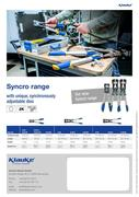 Syncro range of crimping tools 2017